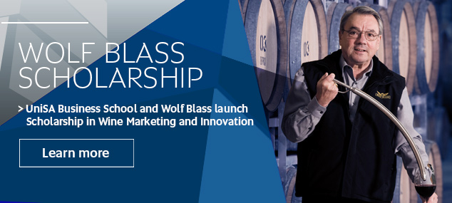 Wolf Blass Scholarship Launch