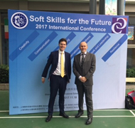 Dean and Head of School of Education presents at Soft Skills for Future Conference, Shanghai, November 2017