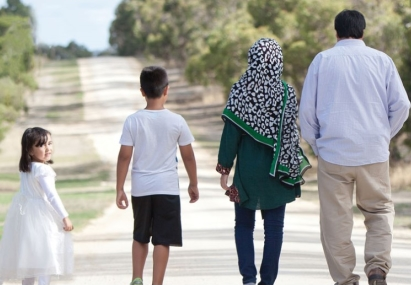 Afghani family in Naracoorte
