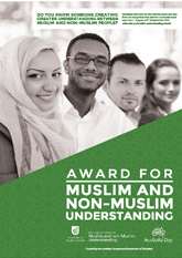 Award for Muslim and Non-Muslim Understanding