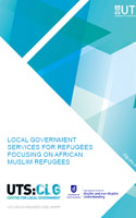 Local Government Services for Refugees Focusing on African Muslim Refugees