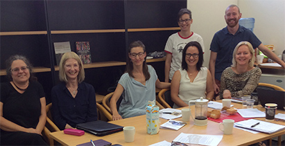 The Centre for Social Change have also been very busy with the visit of the visiting scholar and Adjunct AssociaAssociate Professor Mona Livholts, Linkopping University, Sweden. Mona delivered a workshop on Memory Work.