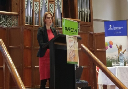 Leah Bromfield at NAPCAN 2017