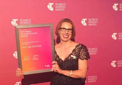 Leah Bromfield National Telstra Awards winner