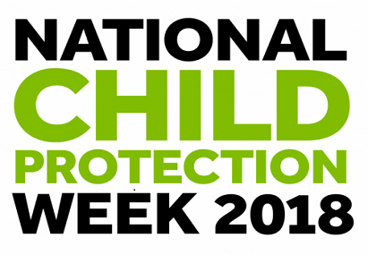 Child protection week banner 2018