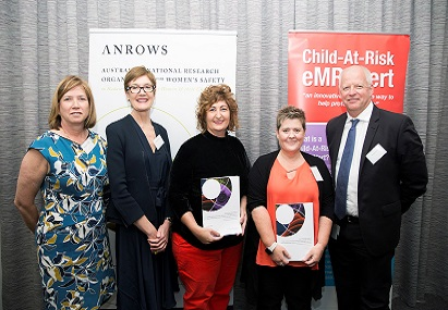 Rosa Flaherty at the ANROW's launch of the Child at Risk Alerts report