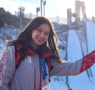 Why I volunteered at the Winter Olympics as part of my studies