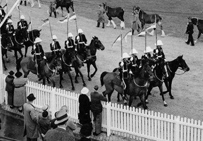 1937 Royal Adelaide Show grand parade