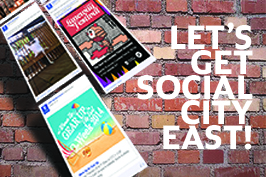 LET'S GET SOCIAL CITY EAST!