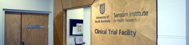Clinical Trial Facility Entrance