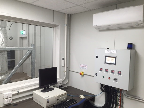 High Temperature Testing Facility