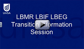LBMR LBIF LBEG Transition Information Session