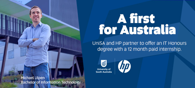 UniSA and HP partner launch IT honours degree
