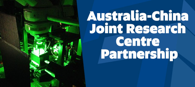 Australia-China Joint Research Centre Partnership