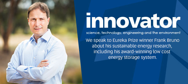 ITEE Research Award Series - Interview with Eureka Prize winner Frank Bruno