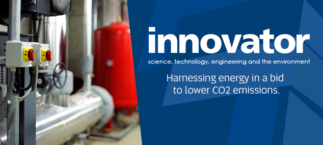 Harnessing energy in a bid to lower CO2 emissions