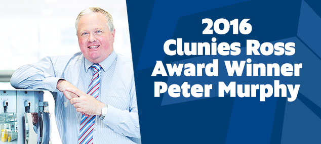2016 Clunies Ross Award Winner Peter Murphy