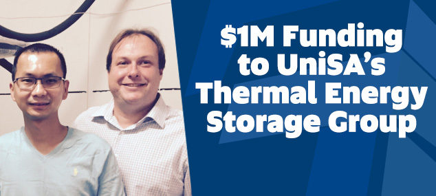 Thermal Energy Group Funding Success
