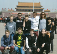 Beijing Jiaotong University Mechanical Engineering Study Tour 2013