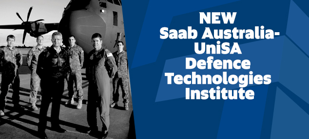 NEW Saab Australia-UniSA Defence Technologies Institute