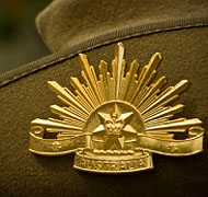 Anzac badge