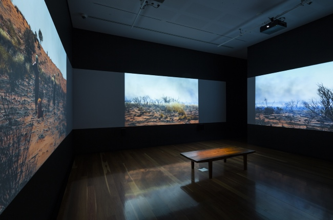Luminous Cinema, 2014, installation detail, Samstag Museum of Art, University of South Australia.