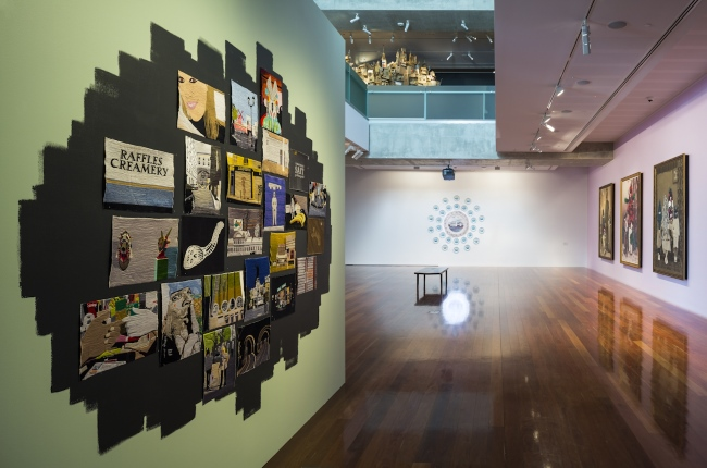 Mooi Indie – Beautiful Indies Indonesian Art Now, 2014, installation detail, Samstag Museum of Art, University of South Australia.