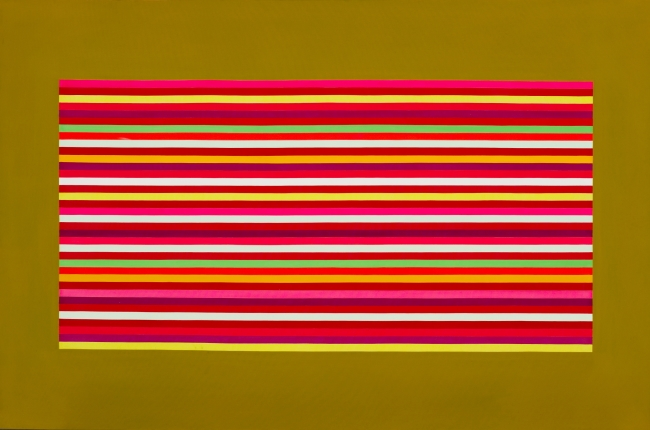 Image: David ASPDEN (Australia, 1935 – 2005), Outer spice (detail), synthetic polymer paint on canvas, 152.4 x 244.0 x 2.8 cm, Art Gallery of New South Wales. Purchased with funds provided by an anonymous purchase fund for contemporary Australian art 1970