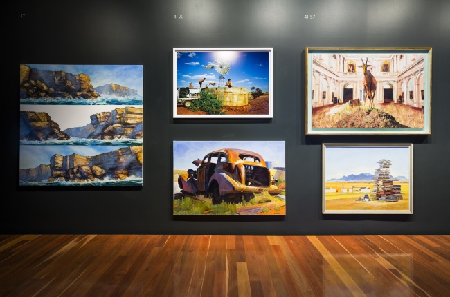 Installation view 2016 Fleurieu Art Prize, Anne & Gordon Samstag Museum of Art, University of South Australia