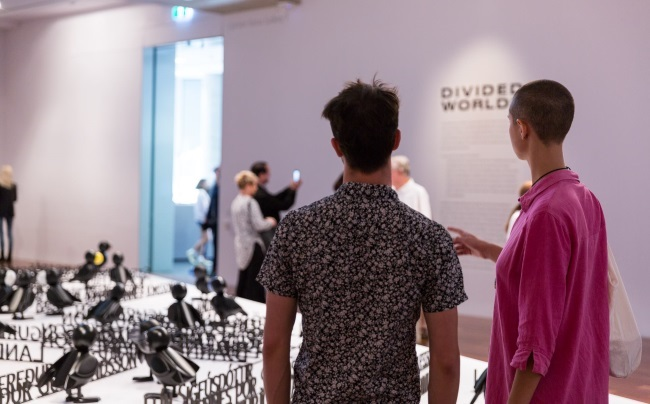 2018 Adelaide Biennial of Australian Art: Divided Worlds launch event