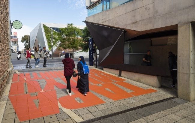 Vernon Ah Kee: Kaurna Language Ephemeral Public Art Project