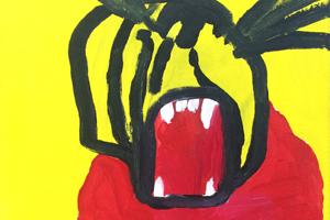 artwork Daniel Kean, Tiger Man
