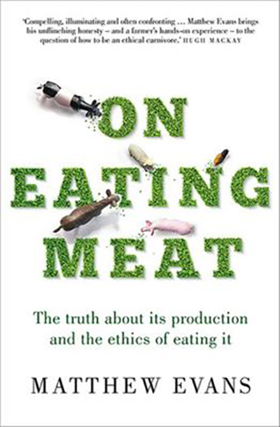 Book cover: On Eating Meat