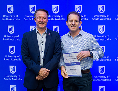 Professor Albert Juhasz won the Policy Impact award at the UniSA Research Awards.