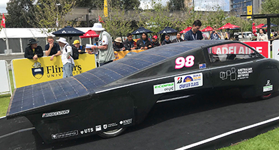 Priscilla the solar car