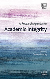 Book cover: A Research Agenda for Academic Integrity